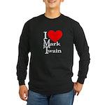 Mark Twain Long Sleeve Dark T-Shirt