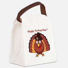HAPPY TURKEY DAY Canvas Lunch Bag