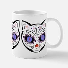 Kitty Kat Sugar Skull Mug