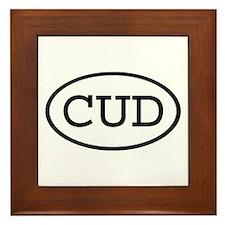 CUD Oval Framed Tile