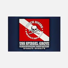 USS Spiegel Grove Magnets