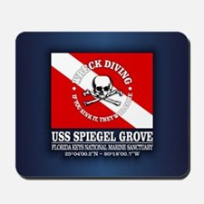 USS Spiegel Grove Mousepad