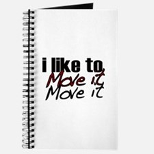 I like to move it Journal