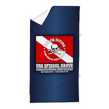 USS Spiegel Grove Beach Towel
