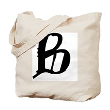 B Tote Bag