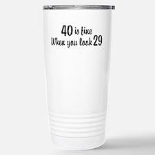 Cute Sexy 40 Travel Mug