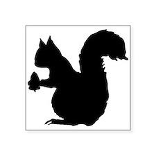 Squirrel Silhouette Sticker