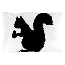 Squirrel Silhouette Pillow Case
