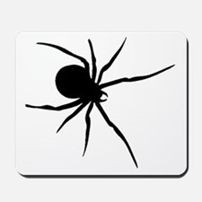 Black Widow Spider Silhouette Mousepad