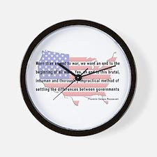 F.D.R. - End War Wall Clock