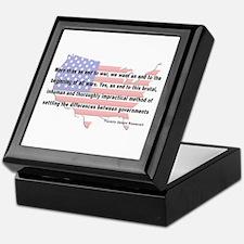 F.D.R. - End War Keepsake Box