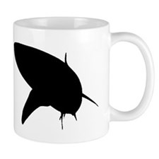 Bull Shark Silhouette Mugs