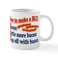 Bacon How To Make a BLT Mugs