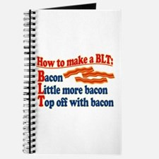 Bacon How To Make a BLT Journal
