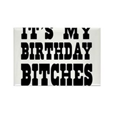 It's My Birthday Bitches Magnets