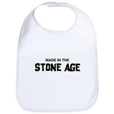Made in the Stone Age Bib