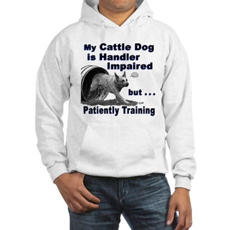 Cattle Dog Agility Hooded Sweatshirt