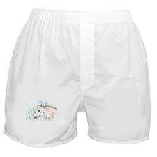 White Horse Boxer Shorts