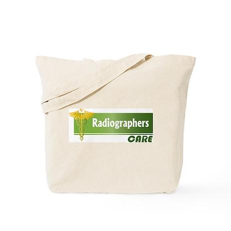 Radiographers Care Tote Bag
