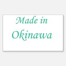 Okinawa Rectangle Decal