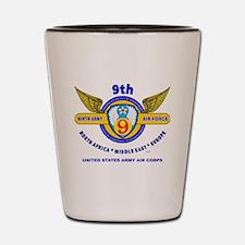 9TH ARMY AIR FORCE WORLD WAR II Shot Glass