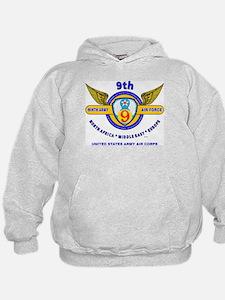 9TH ARMY AIR FORCE WORLD WAR II Hoodie