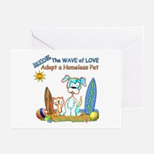 Ride The Wave Greeting Cards (Pk of 10)