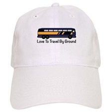Travel by Ground Baseball Baseball Cap