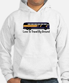 Travel by Ground Hoodie
