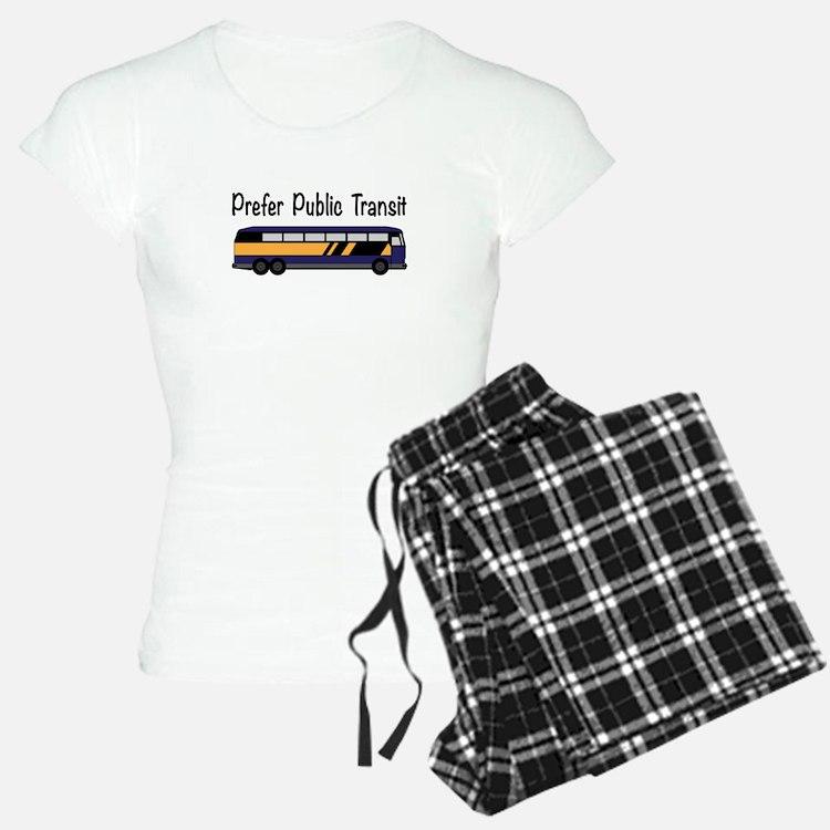 Prefer Public Transit Pajamas