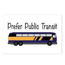 Prefer Public Transit Postcards (Package of 8)
