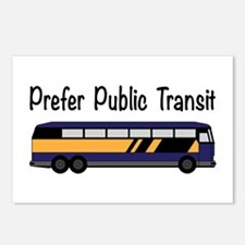 Prefer Public Transit Postcards (Package of 8)