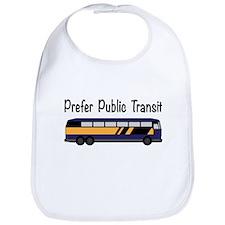 Prefer Public Transit Bib