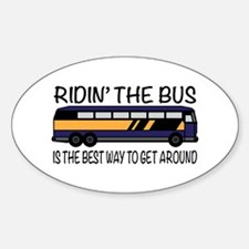 Ridin the Bus Decal