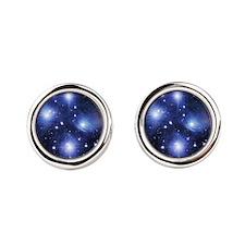 Pleiades Round Cufflinks