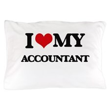 I love my Accountant Pillow Case