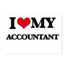 I love my Accountant Postcards (Package of 8)