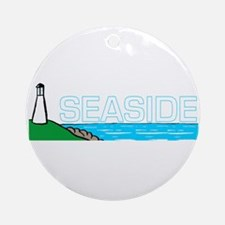 Seaside Ornament (Round)