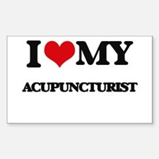 I love my Acupuncturist Decal
