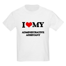I love my Administrative Assistant T-Shirt