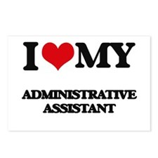 I love my Administrative Postcards (Package of 8)
