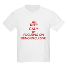 BEING EXCLUSIVE T-Shirt