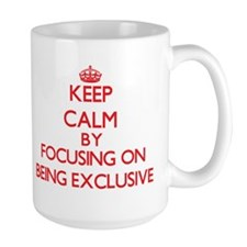 BEING EXCLUSIVE Mugs