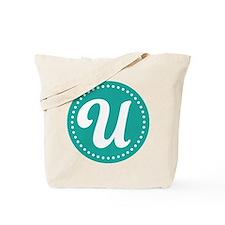 Letter U Tote Bag