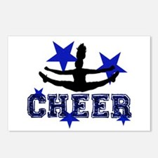 Blue Cheerleader Postcards (Package of 8)