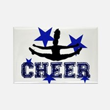 Blue Cheerleader Magnets