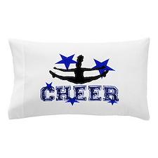Blue Cheerleader Pillow Case