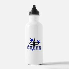 Blue Cheerleader Water Bottle