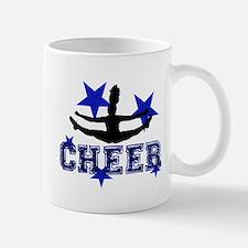 Blue Cheerleader Mugs