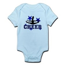 Blue Cheerleader Body Suit